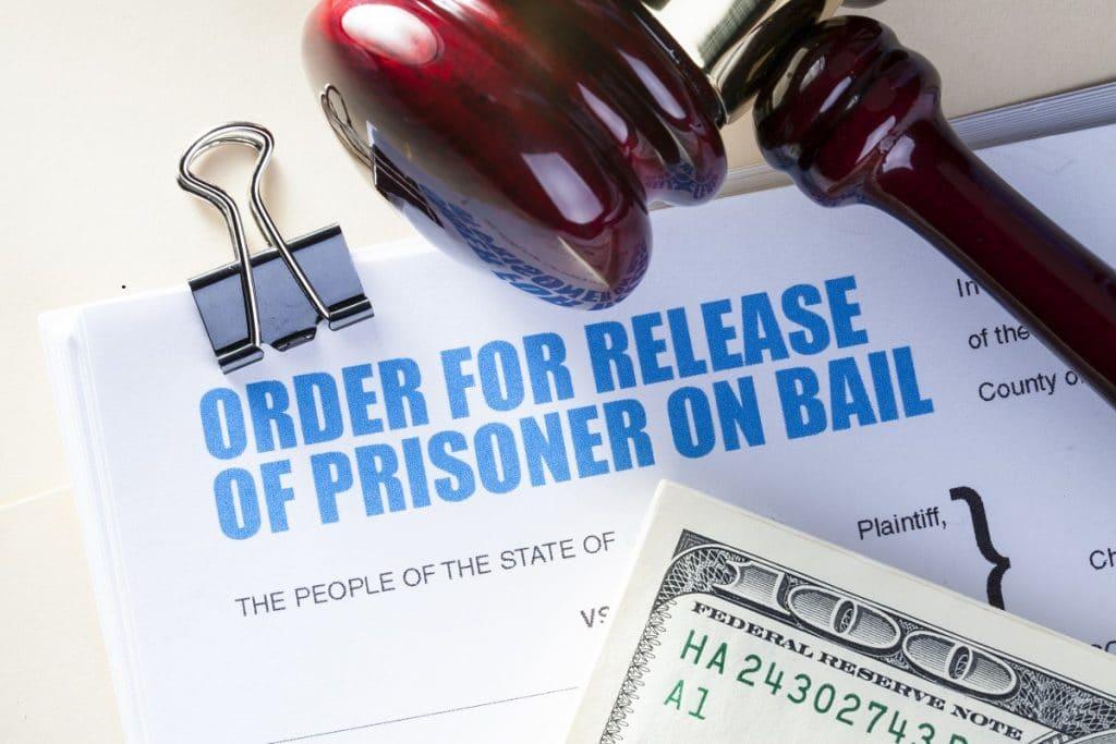 Document for release of prisoner, Bail Bond